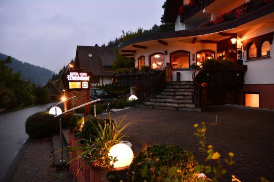 Schenkenzell, Tyskland: Hoteleingang