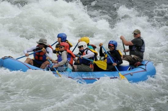 Forestville, CA: Whitewater fun on the American