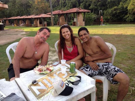 State of Rondonia: Balneário Rio Preto com amigos