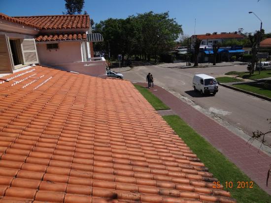 Hotel Argentina: vista desde un balcon