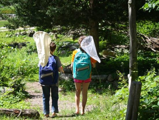 Denison Pequotsepos Nature Center: Free backpacks to help you explore.