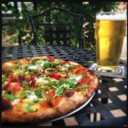 Dolores River Brewery: outdoor dining
