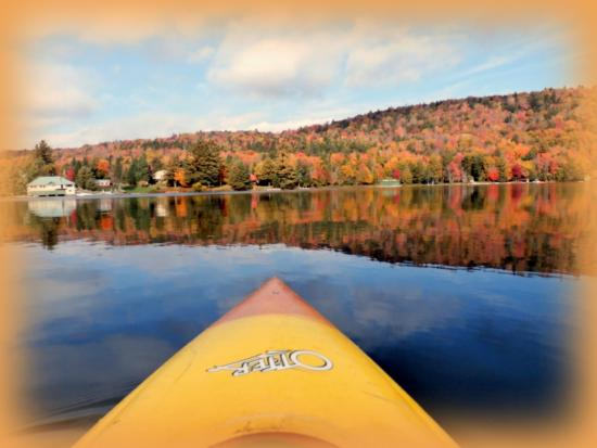 Eagle Bay, NY: Kayaking  BML