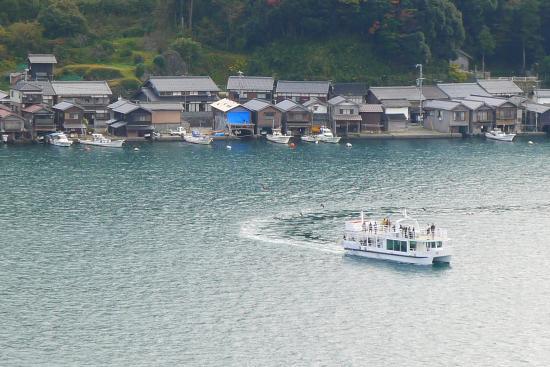 Michi-no-Eki Funaya no Sato Ine: 舟屋眺望
