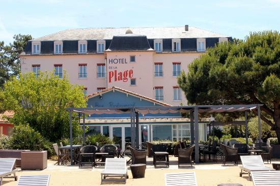 Inter-Hotel de la Plage : la plage de l'hotel