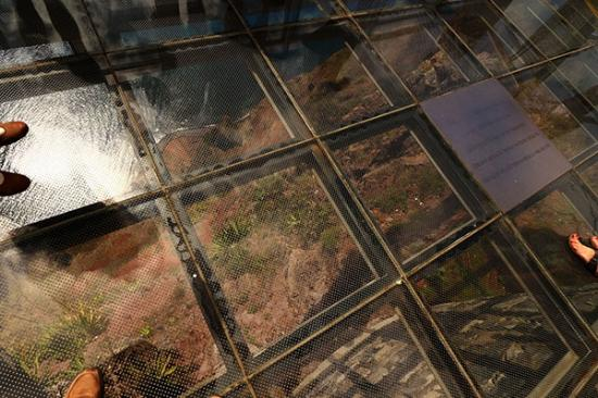 Glass Floors Of The Sky Walk Picture Of Daniel Madeira Taxis