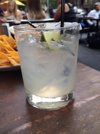 Mezcal Margarita! - Picture of Dos Caminos, New York City ...