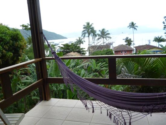 Pousada Tagomago Beach Lodge: Vista desde la habitacion