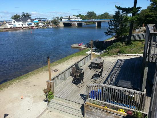 Wasaga River Resort Inc: Panoramic View of main beach 1 and dozens of attractions.