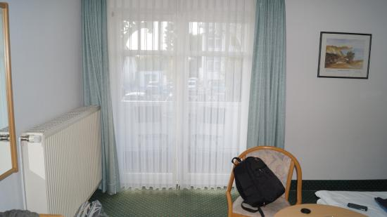 Pension Petri: Zimmer mit Balkonaussicht