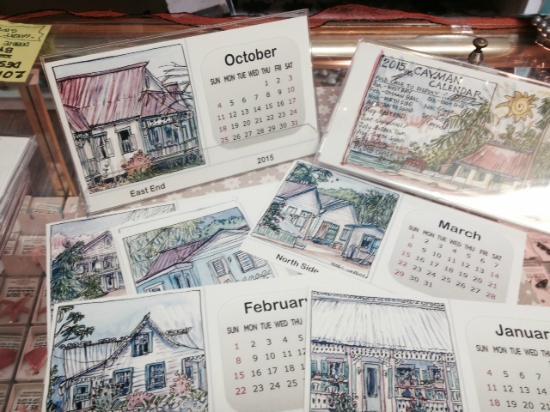 Pure Art Gallery & Gifts: 2016 desktop Cayman calendar !