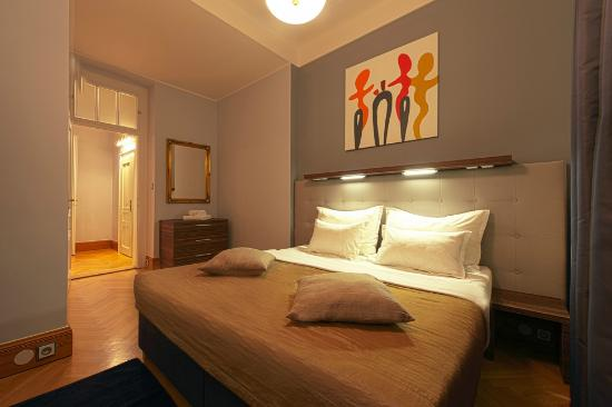 Prague City Apartments Residence Brehova: Bedroom at type X1 apartment
