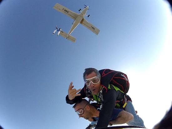 parachutisme roanne