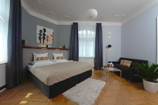 Prague City Apartments Residence Brehova: Bedroom at apartment type X3