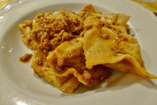 Vicchio, Italien: Hausgemachte Pasta