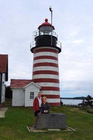 Lubec, ME: Lighthouse, close up and personal