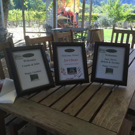 Wine Country Journeys LLC: feeling welcome