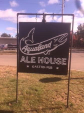Boulder Junction, WI: Sign