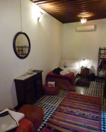 chambre, dar el Hana, Fès
