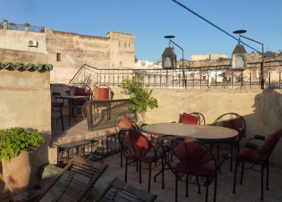 Dar El Hana: terrasse,dar el Hana, Fès