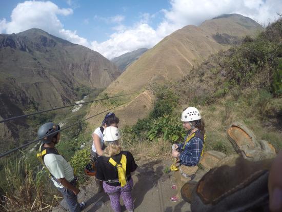 Santa Teresa, Περού: The line