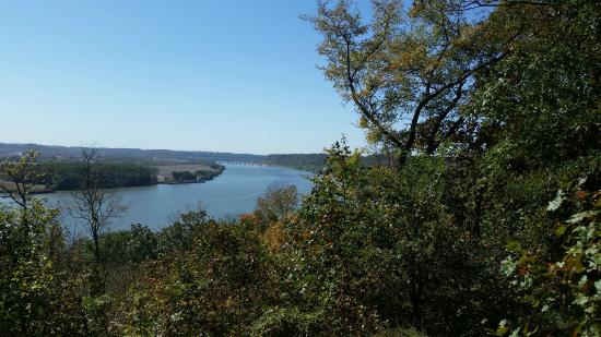 Cannelton, IN: Best view of the Ohio in Southern Indiana