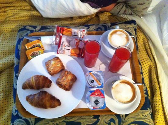 Mocenigo Vatican Suites: la colazione è otiima