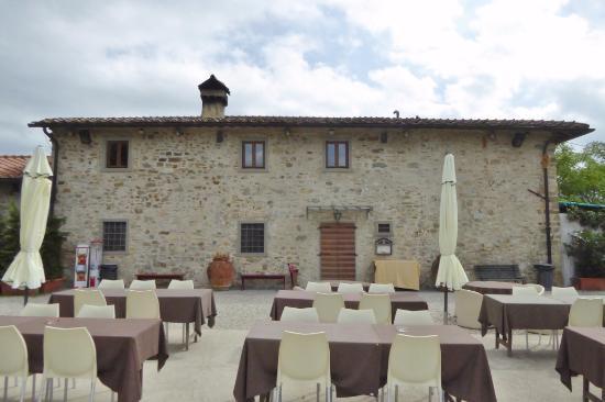 Vicchio, Italia: Terrasse