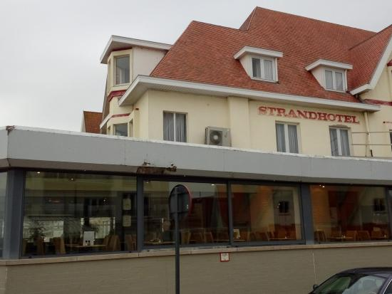 De Haan, Belgien: Detalle exterior