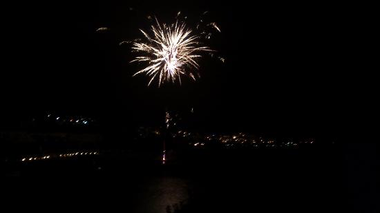 Elounda Peninsula All Suite Hotel: Fireworks