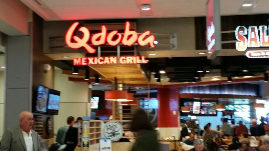 Qdoba Mexican Grill Dallas Dfw Airprt Restaurant