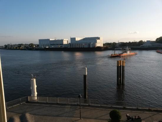 Hotel Strandlust Vegesack: Aussicht aus Zimmer