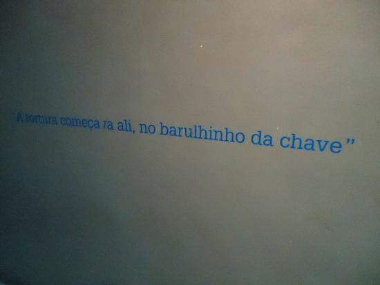 Foto De Memorial Da Resistência Of São Paulo Frase
