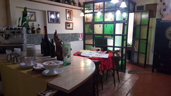 Osteria Dei Cansacchi: Interior del restaurante