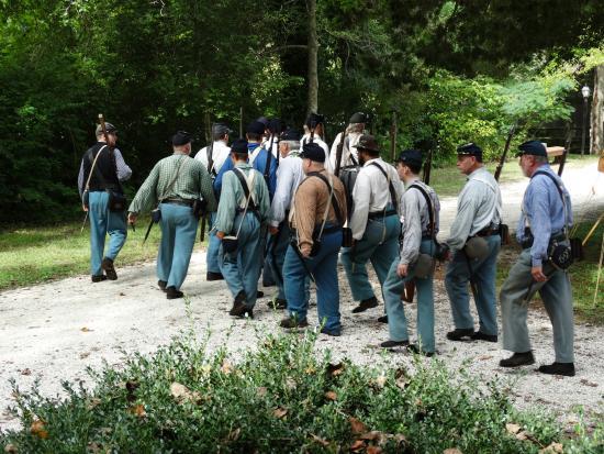 Historic Cold Spring Village: Cold Spring Village Civil War Re-enactors