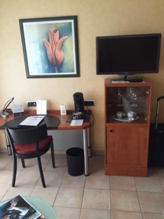 Hotel VierJahreszeiten Iserlohn: Good work space