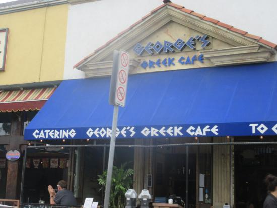 George S Greek Cafe Parking