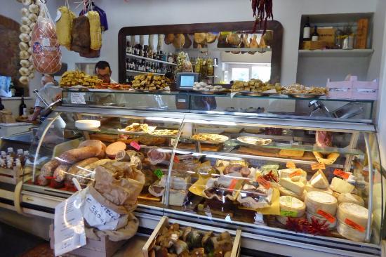 Vicchio, Italia: Der Lebensmittel-Laden