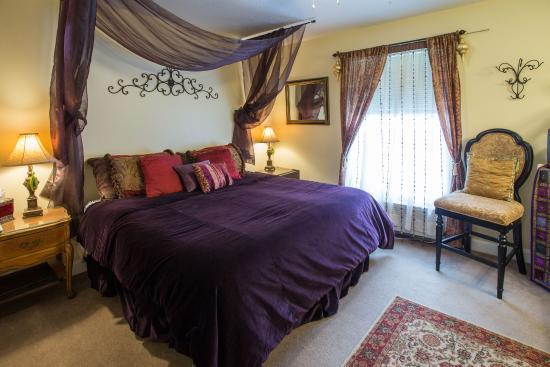 Woodstock Inn Bed and Breakfast : Moroccan room