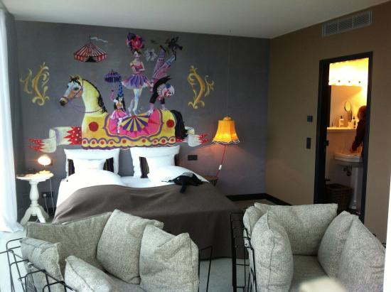 25hours Hotel at MuseumsQuartier: Suite 714