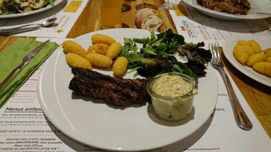 Saint-Martin-Boulogne, Γαλλία: Pavé de boeuf, sauce béarnaise