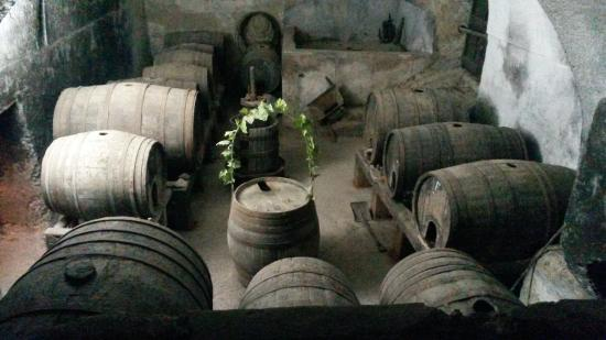 Masseria Astapiana Villa Giusso: This is where the monks brewed their liquor