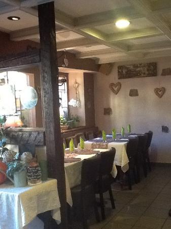 Le Medieval: Salle du restaurant