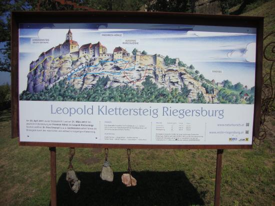 Klettersteig Near Munich : Leopold klettersteig picture of riegersburg castle