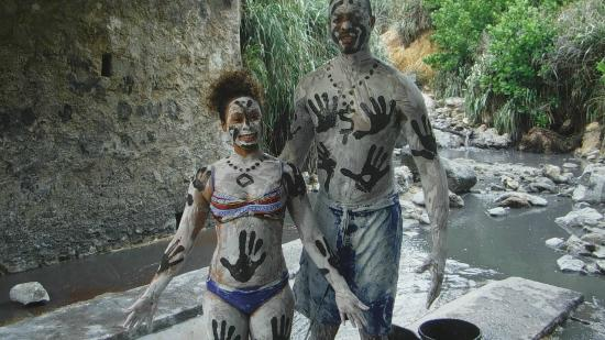 Mud Bath Picture Of Real St Lucia Tours Soufriere