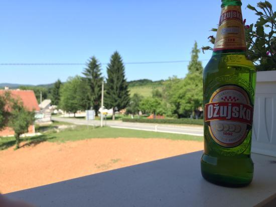Udsigten fra den lille altan - Picture of House Ivana, Rakovica ...