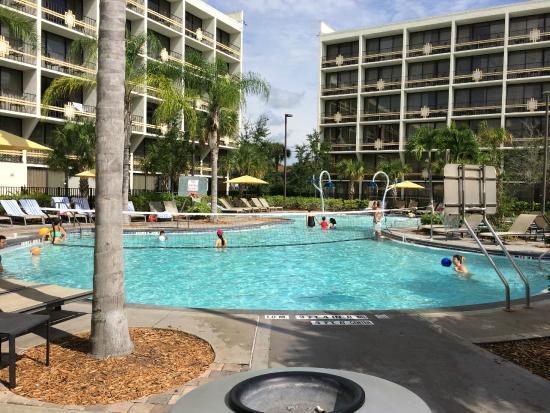 Lobby picture of sheraton lake buena vista resort for Pool show orlando 2015