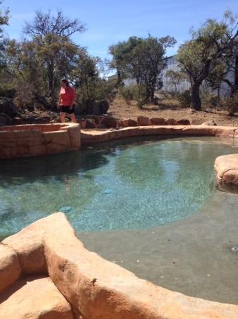 Trois Estate at Enchanted Rock: Outdoor pool