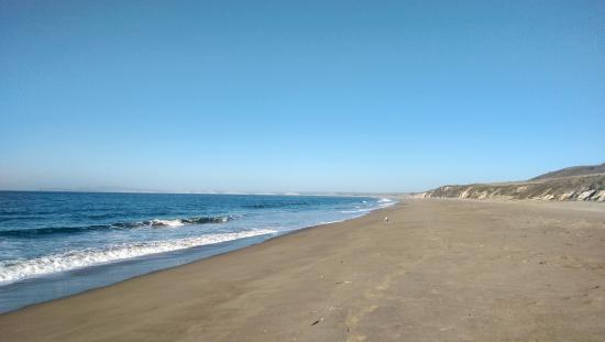 Point Reyes Hostel: Santa Maria Beach, looking north