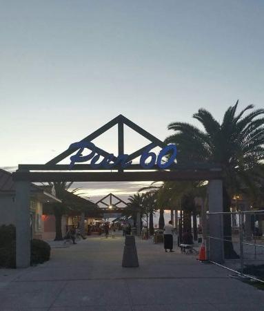 Coral Resort Condominiums: Entrance to pier 60